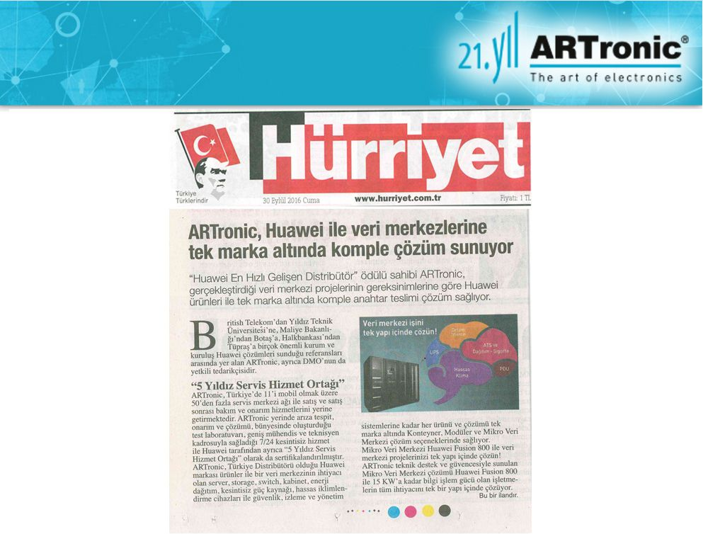 Hürriyet 30/09/2016 Data Center